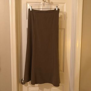 Coffee color A- line skirt by Tribal